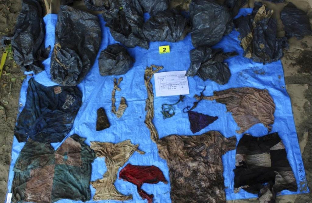 墨西哥東部韋拉克魯斯州(Veracruz)發現百餘具屍體,疑似是毒梟下的手(美聯社)
