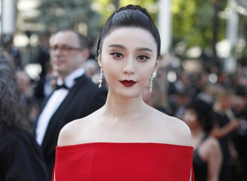Fan Bingbing at Cannes Film Festival in 2017.