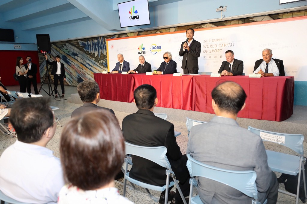 Taipei City officials welcomed an ACES Europe delegation Friday.