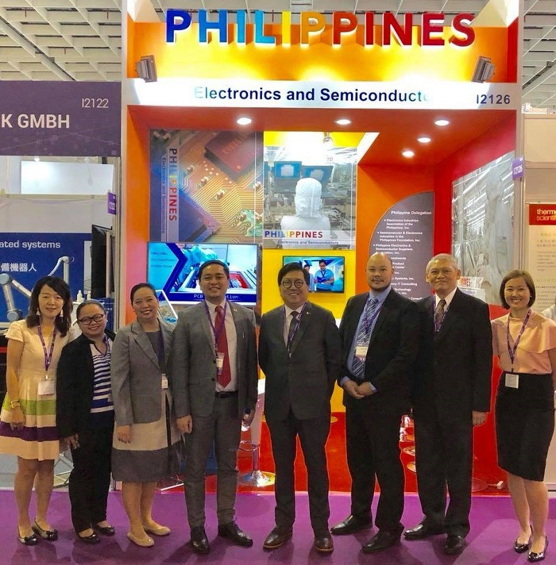 Philippine booth at SEMICON Taiwan 2018. (Image courtesy of MECO)