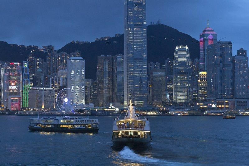 Britain worried about pressure on basic freedoms in Hong Kong.