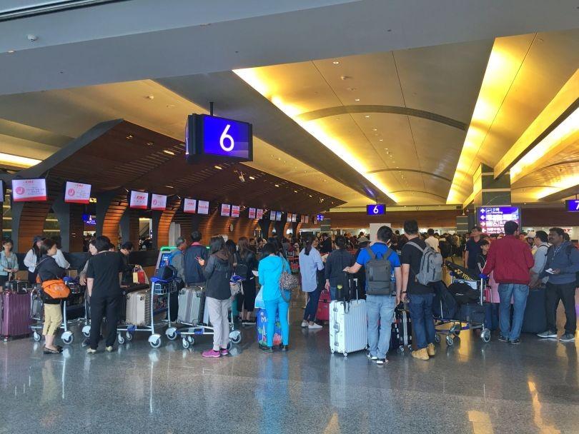 Taiwan Taoyuan International Airport.