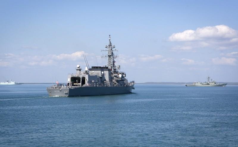 澳洲卡卡度海上軍演(圖/澳洲海軍官網)