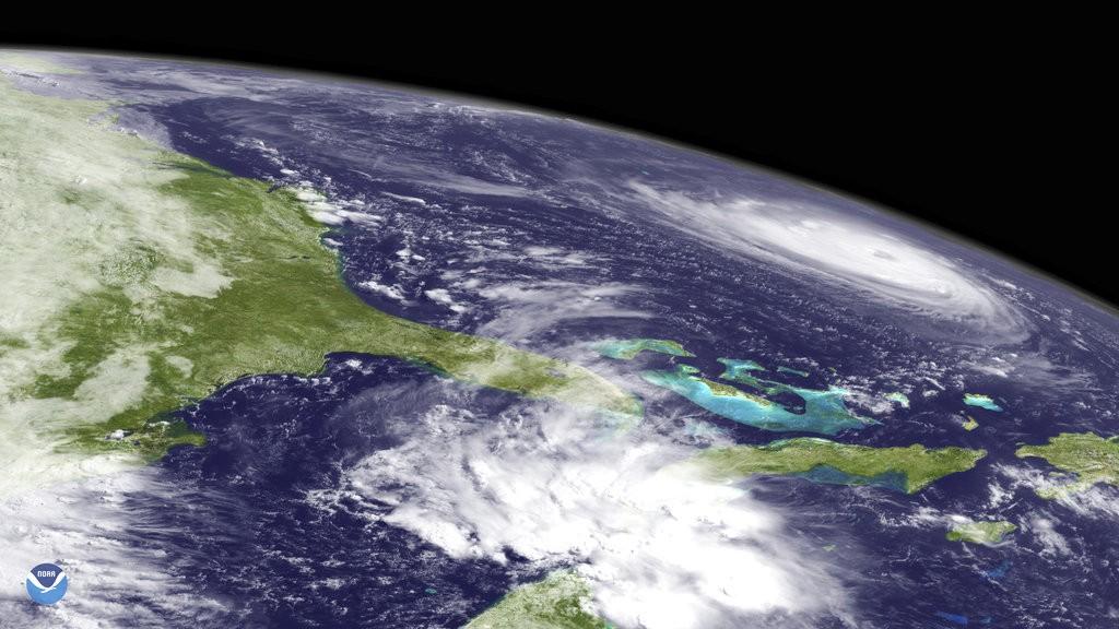 四級颶風佛羅倫斯(美國國家海洋暨大氣總署。美聯社提供)