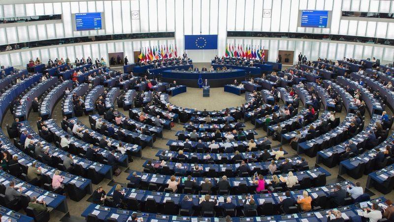 歐洲議會(圖/中央社)
