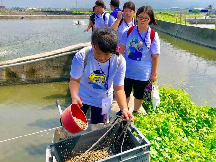樂漁8培養台灣養殖青年新南向(照片來源:樂漁8)