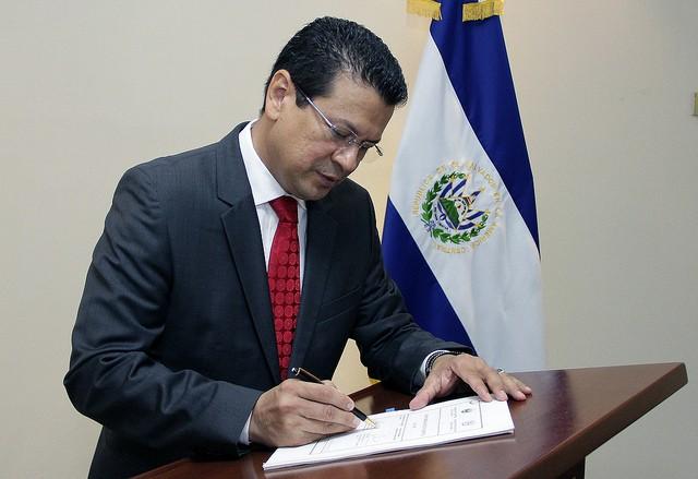 Former El Salvador Foreign Minister Hugo Martinez. (Image courtesy of IAEA)