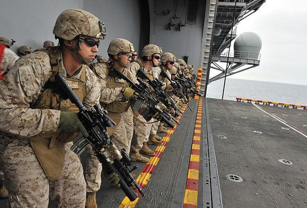 美國海軍陸戰隊(圖片來源:維基百科)