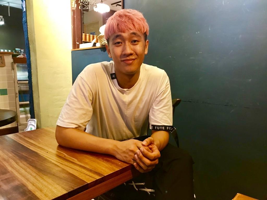 大馬YouTuber西西歪(圖片來源:台灣英文新聞/蔣佩庭)