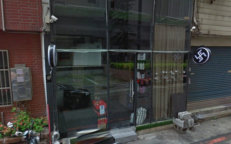 Northern Taiwan hair salon refuses to remove 'Nazi swastikas' from entrance