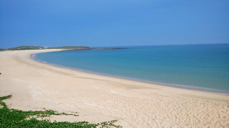 A beach on Penghu's Wangan Island