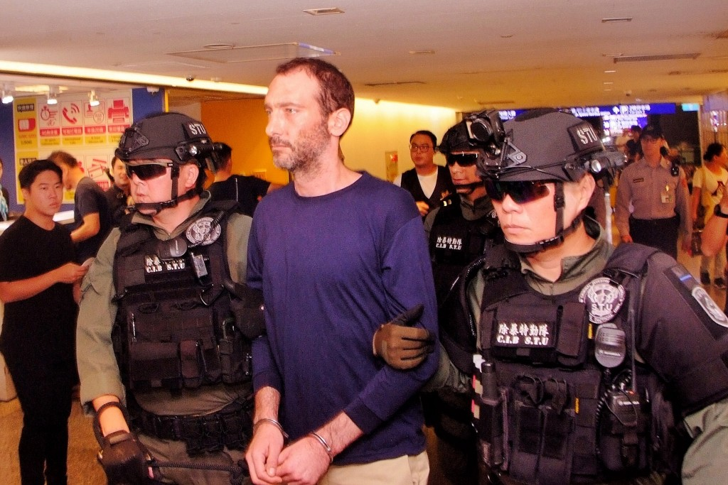 Video shows Israeli-American murder suspect being brought back to Taiwan