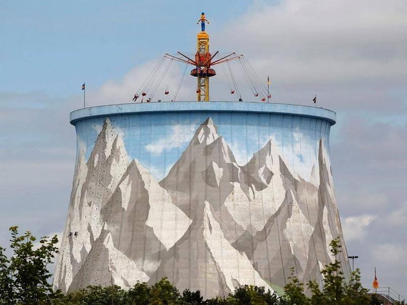Kalkar nuclear power plant turned theme park (Photo/FB Photopedia)