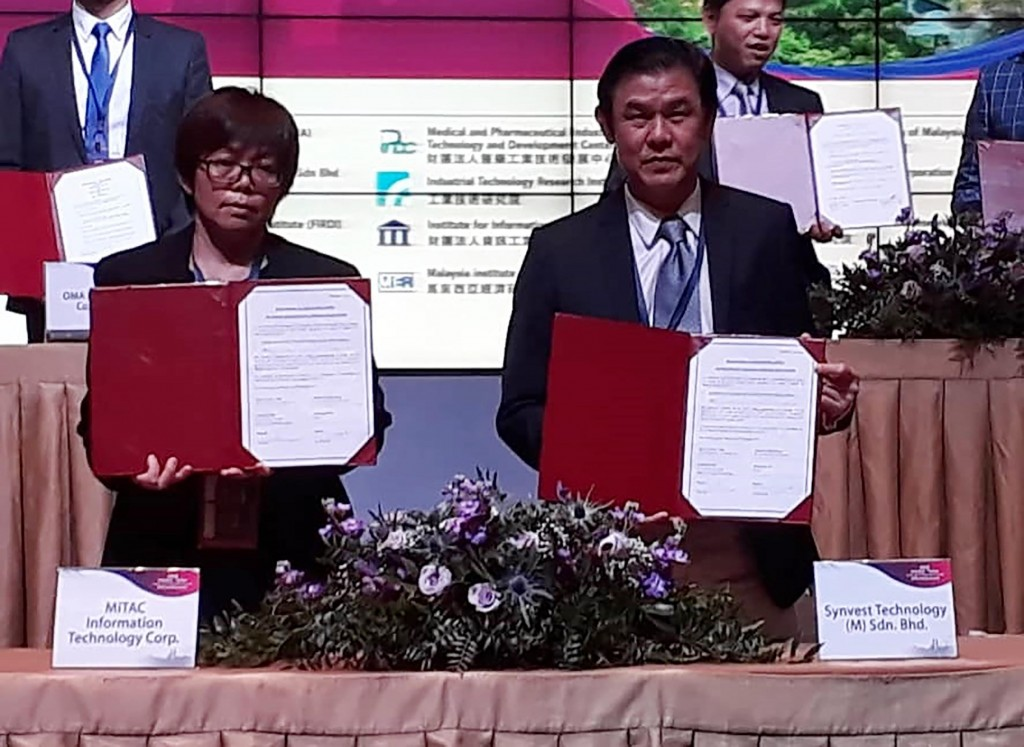 Malaysian libraries are interested in Taiwan's IDSmart smart library system.