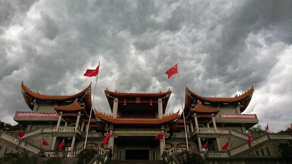 Biyun Temple. (Image from Wei Ming-jen Facebook)