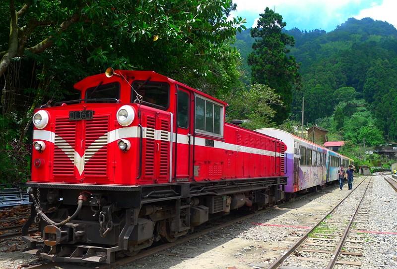 阿里山森林鐵路(圖/阿里山林業鐵路及文化資產管理處)