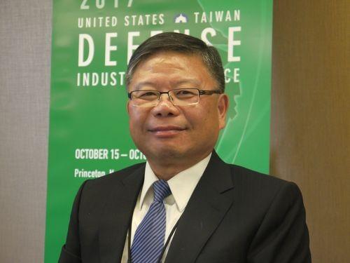 Dep. Minister Chang Guan-chung at a 2017 Def. Indu...
