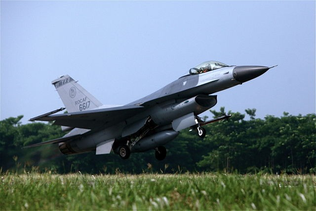 Taiwan air force F-16