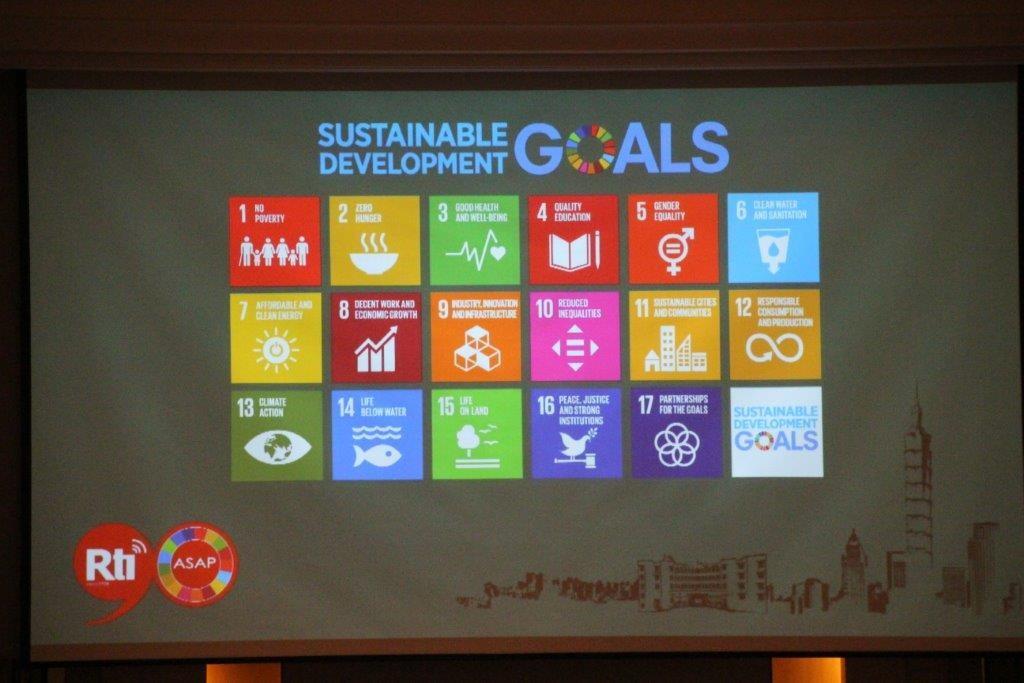 聯合國17項永續發展目標