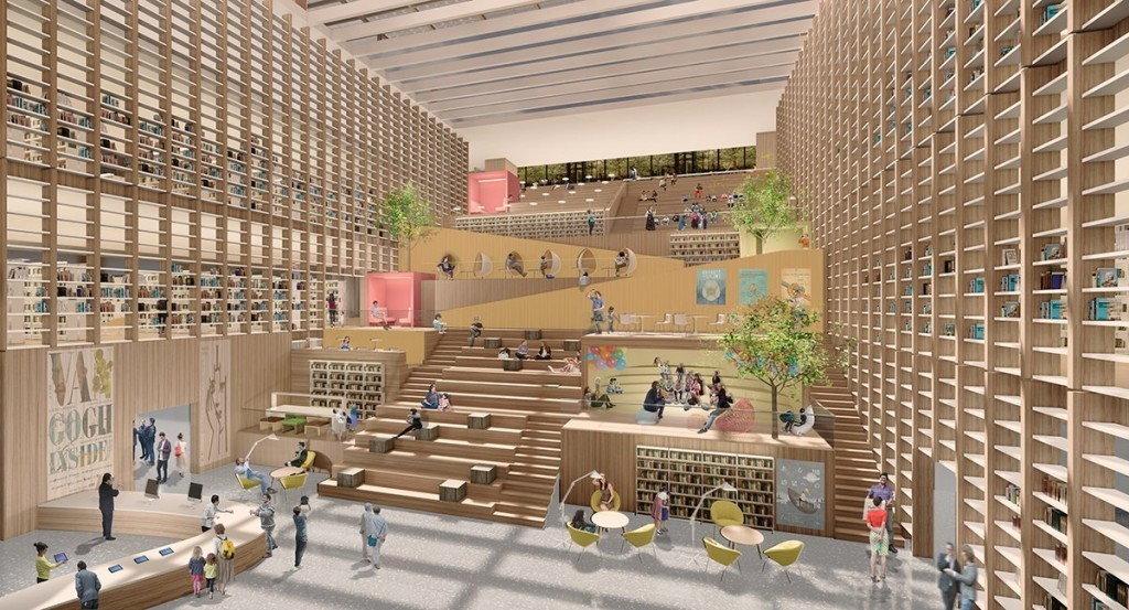 Taiwan National Library and Repository in Tainan C...