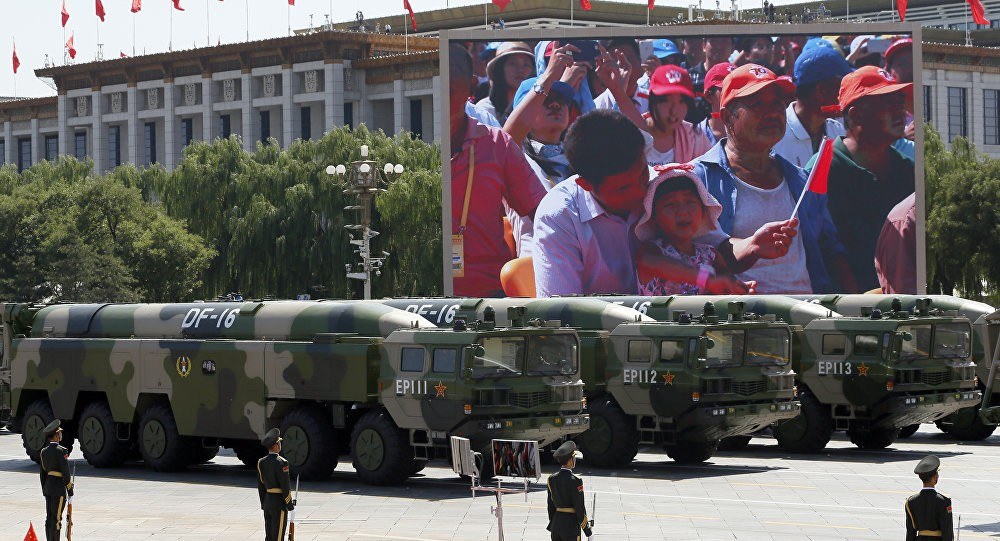 File Photo: PLA Rocket Force mobile missile platforms