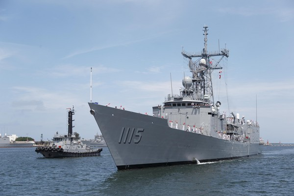 Perry-class frigate Ming Chuan. (Image from mna.gpwb.gov.tw)