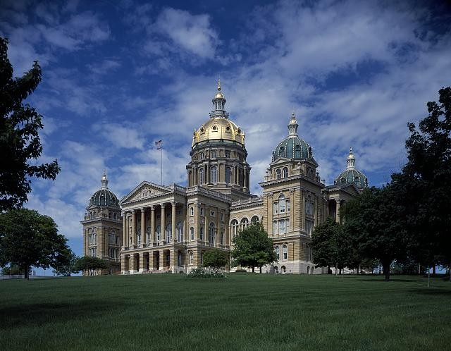 State Capitol in Des Moines, Iowa