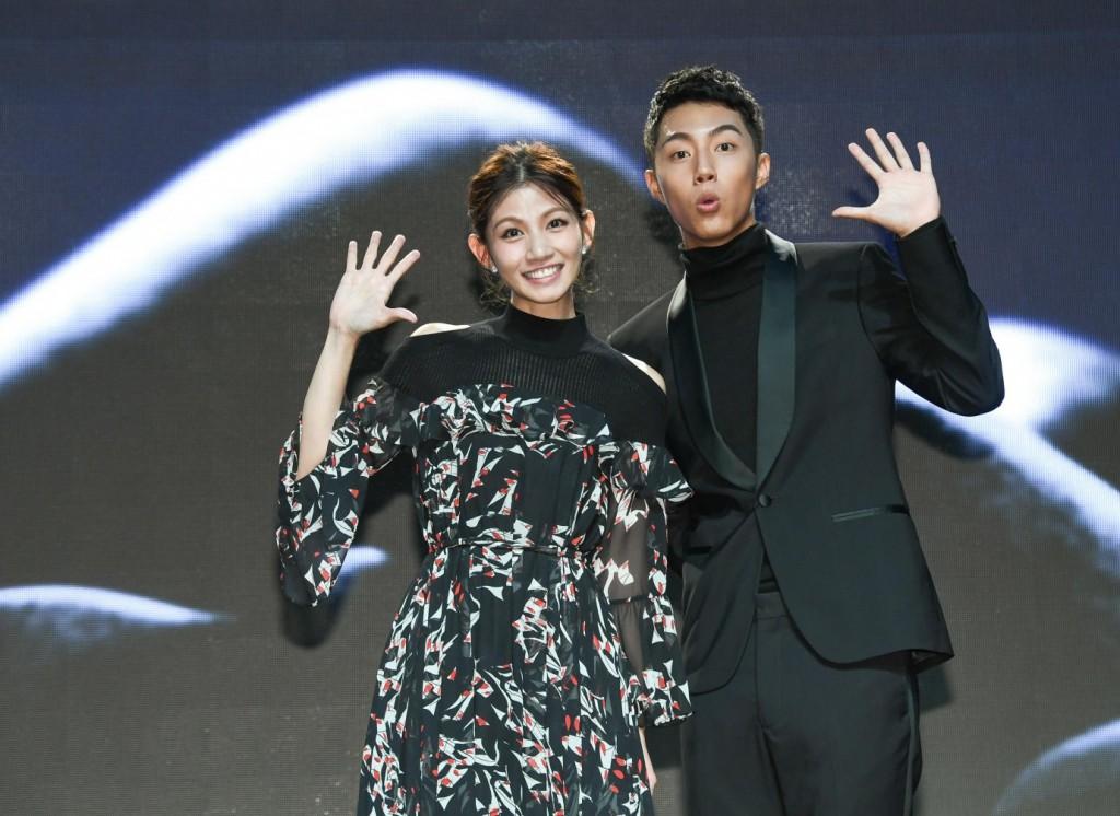 入圍記者會由曾獲金馬獎最佳新演員的李千娜(左)及上屆獲得提名的蔡凡熙共同揭曉。(圖片來源:台北金馬影展)