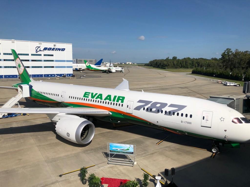 EVA Air's new 787-9s (Image courtesy of EVA Air)