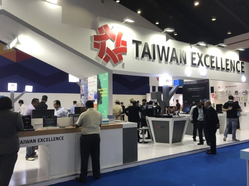 Image of the TAITRA expo in Bengaluru (Image from TAITRA)