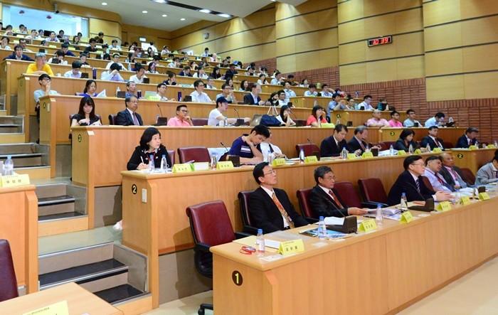 圖為第四屆國際綠色智慧交通論壇的盛況(照片來源:台灣永續能源研究基金會)