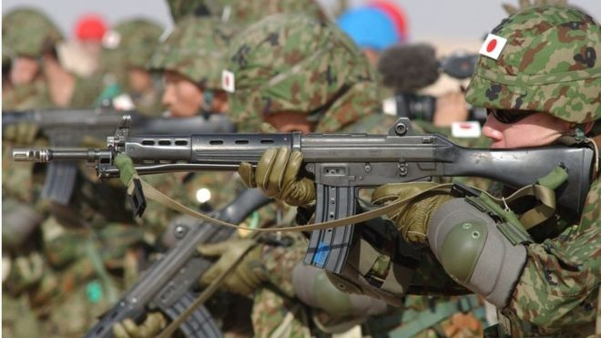 Japan's Self-Defense Forces.