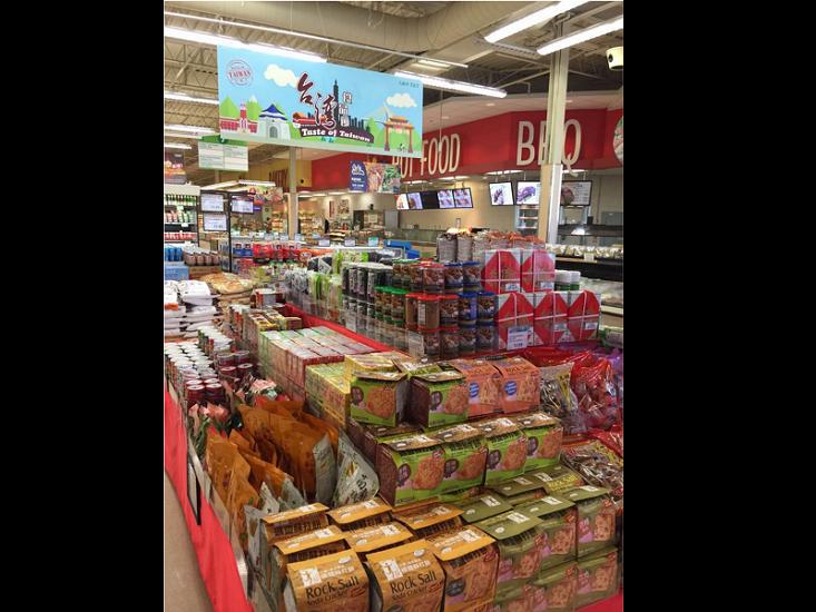 台灣食品節12至18日將在加拿大的亞洲連鎖超市舉辦為期一週的台灣食品特惠活動(中央社)