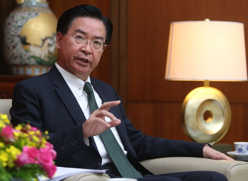 Foreign Minister Joseph Wu (吳釗燮)