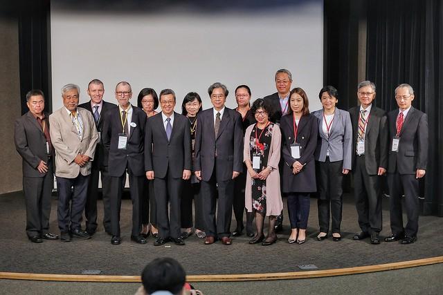 副總統陳建仁出席「2018亞洲NGOs國際發展研討會」(圖/總統府)