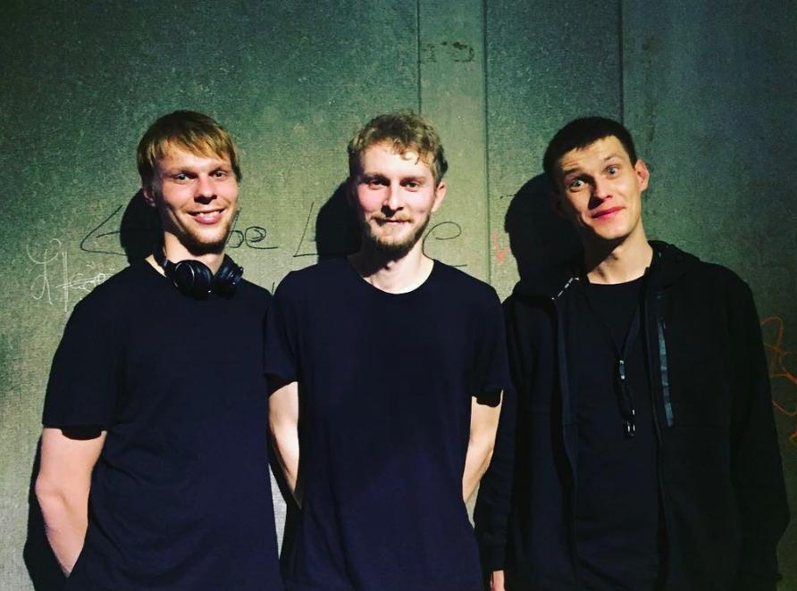 立陶宛樂團《Sheep Got Waxed》已於台北結束亞洲巡迴演出,左起鼓手 Adas、吉他手Paulius、薩克斯風手 Simonas