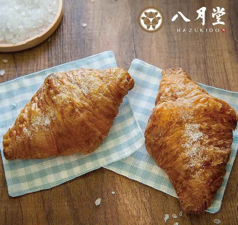 【美福食集 X 八月堂】奶油海鹽可頌限定推出!