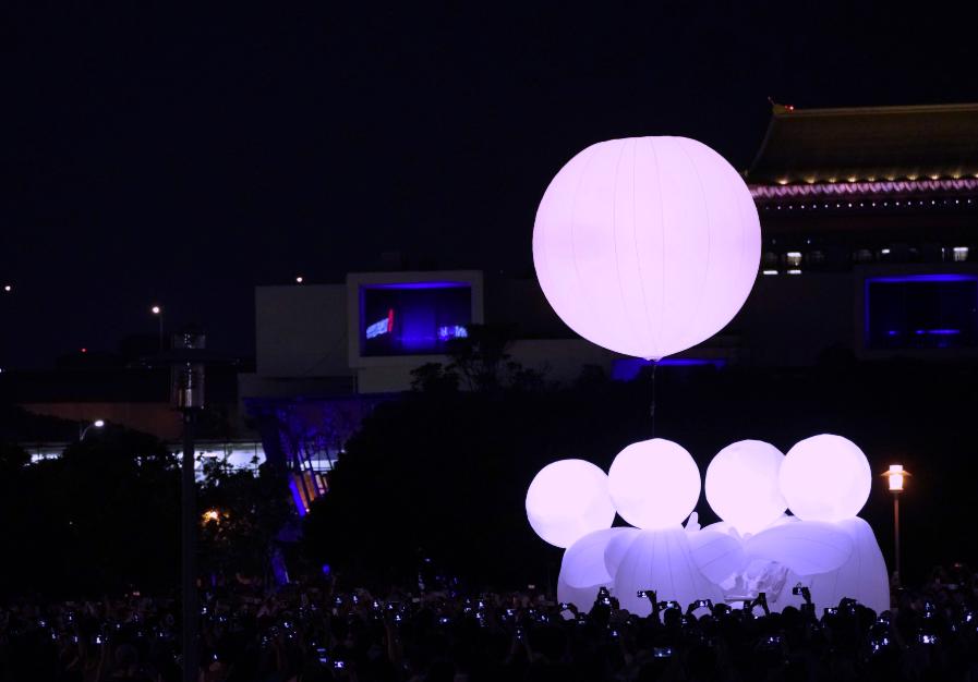 白晝之夜已於近日落幕,帶來近500位藝術家創作(圖/白晝之夜)