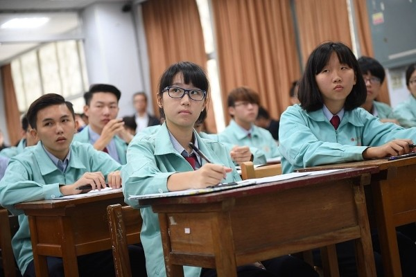 Taiwanese students.