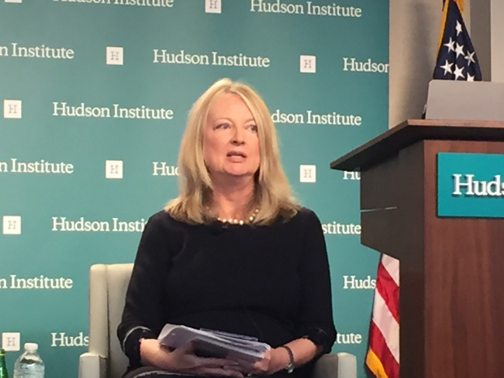 Nina Shea at the Hudson Institute.
