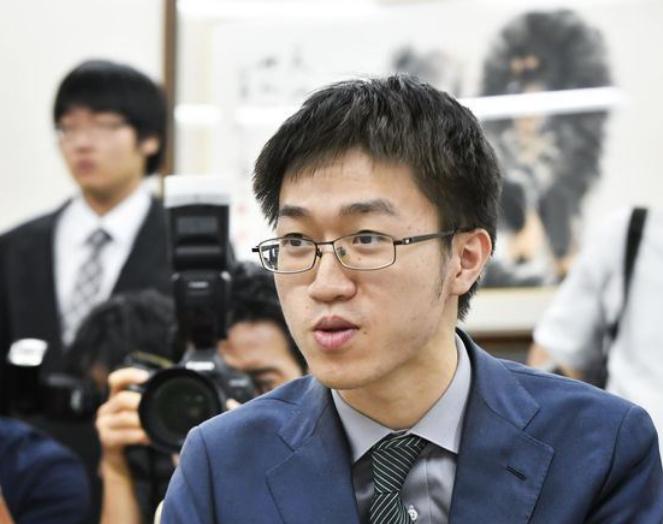 Taiwanese Go player Hsu Chia-yuan (Source: CNA)