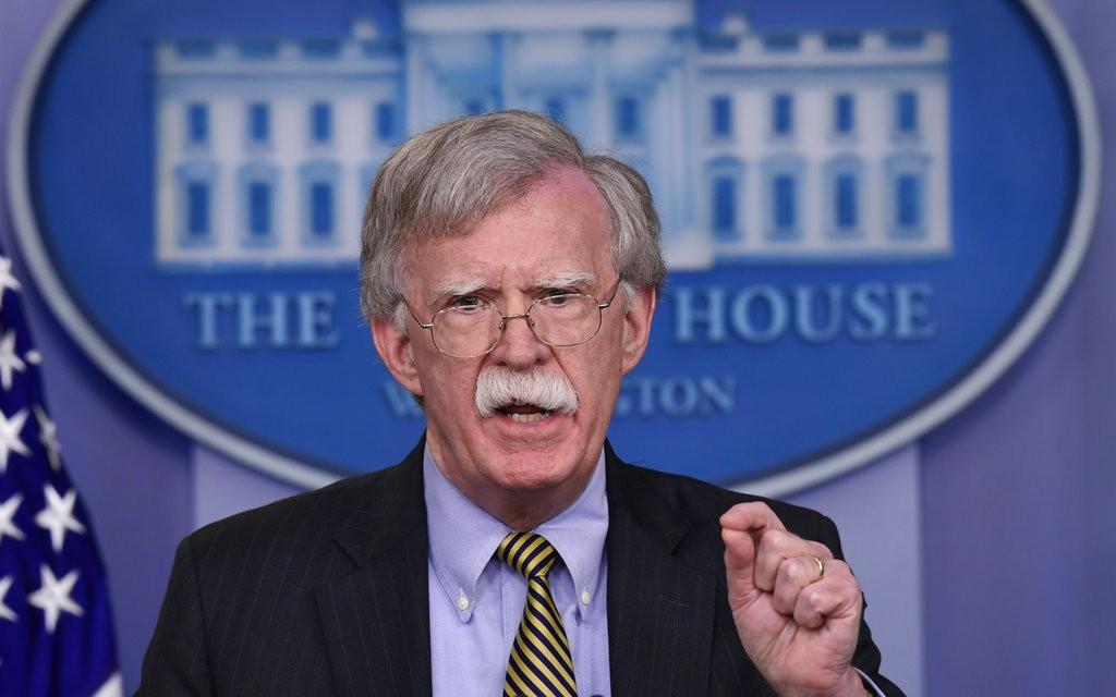 美國白宮國家安全顧問波頓(照片來源:資料照片/美聯社提供)