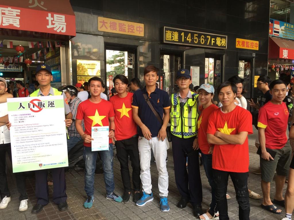 (圖片來源:台中市警察局第一分局)
