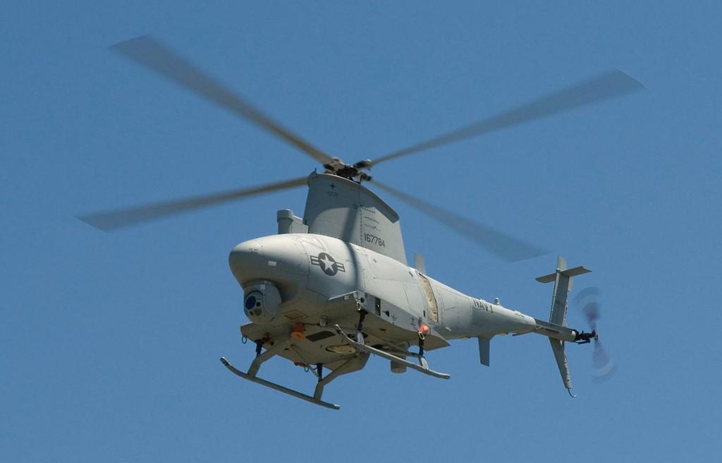 MQ-8B無人直升機(圖片來源:維基百科)