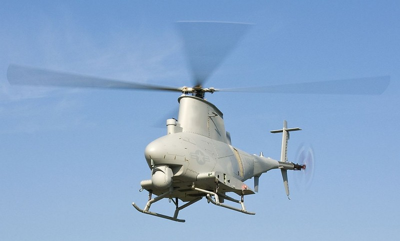 An MQ-8B Fire Scout unmanned aerial vehicle (Photo/Wikipedia)