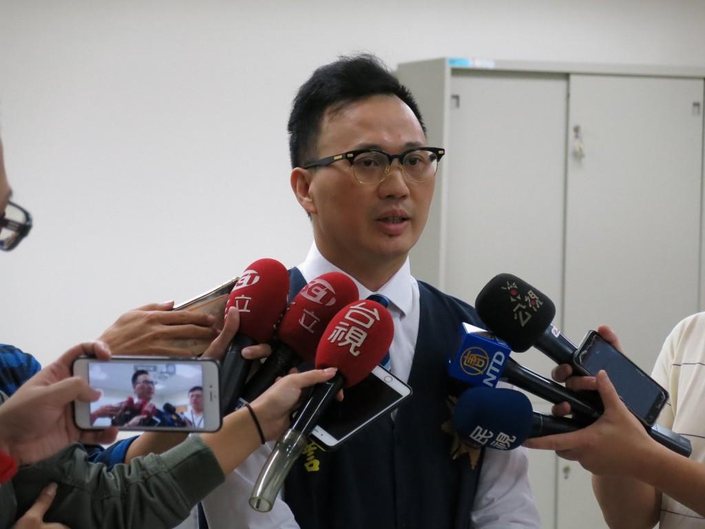 The photo shows CIB spokesperson Wesley Yang (Image courtesy of CIB)