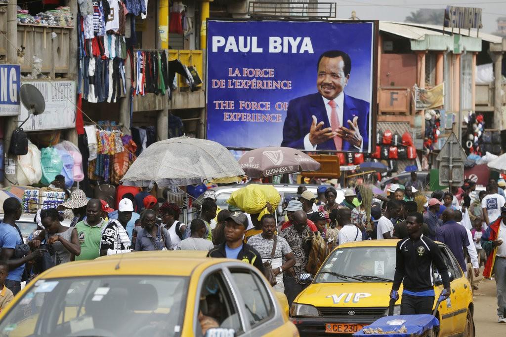 近日非洲都市化進展快速。圖為中西非喀麥隆首都雅溫得(Yaounde)(美聯社)