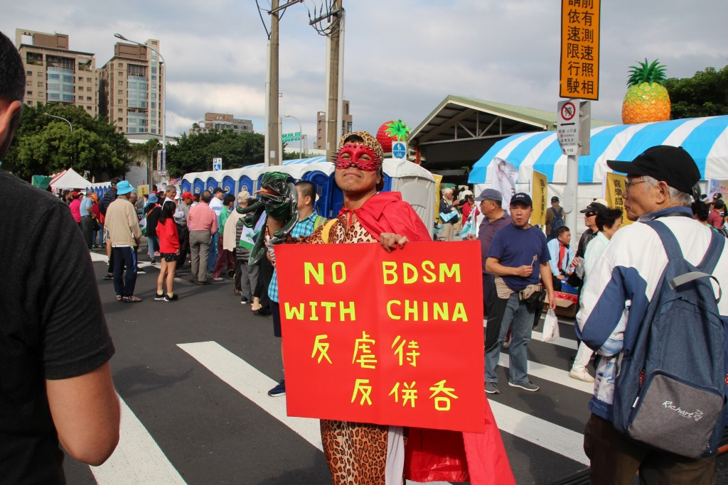 Taiwan independence rally attracts thousands of protestors in Taipei