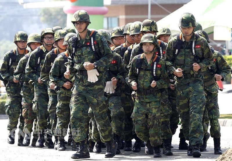 國軍示意圖(圖片來源:中央社)