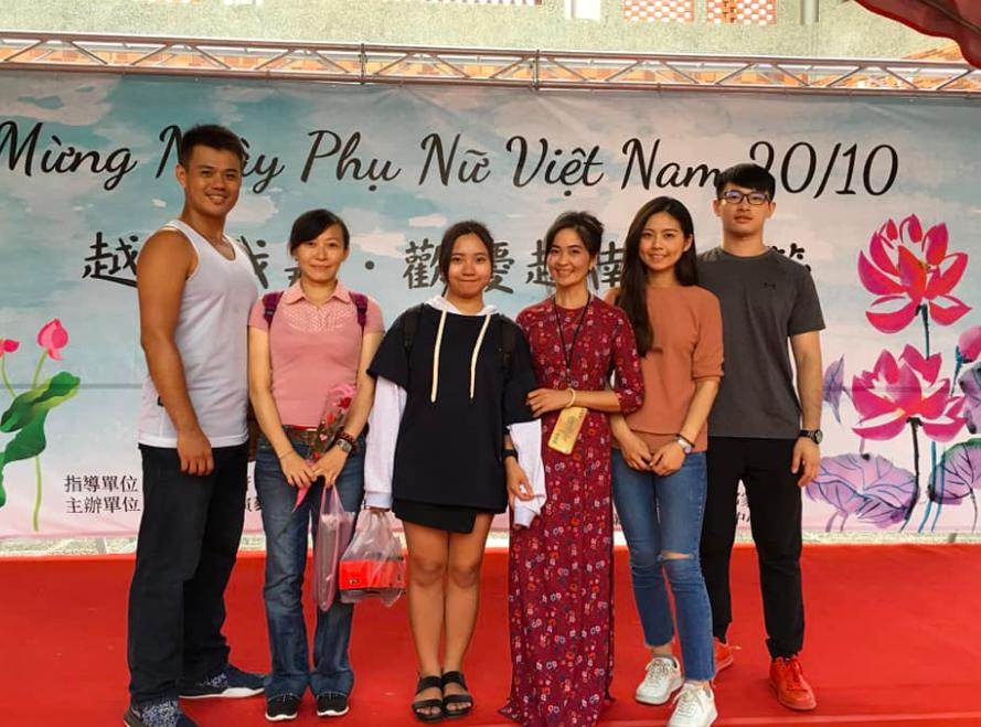 嘉義舉辦慶祝越南婦女節活動(圖/越在嘉文化棧臉書)